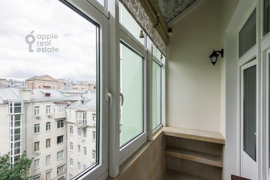 Balcony / Terrace / Loggia of the 3-room apartment at Trubnikovskiy pereulok 13S1