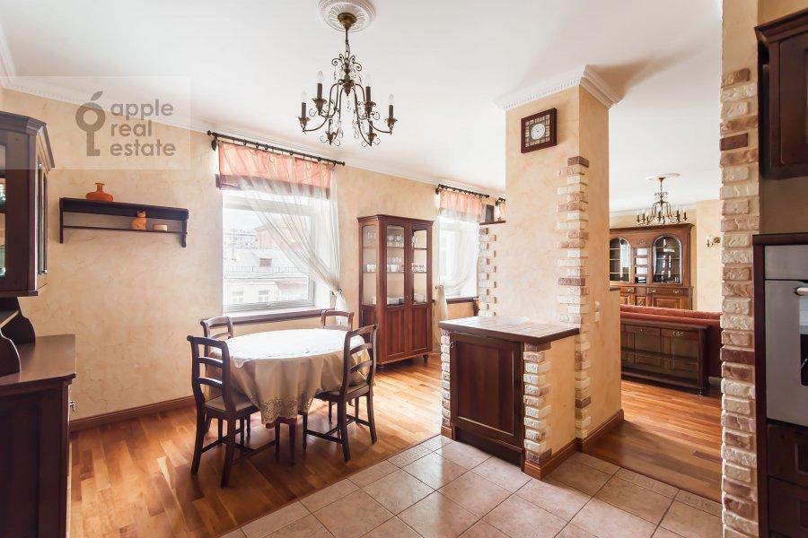 Kitchen of the 3-room apartment at Trubnikovskiy pereulok 13S1