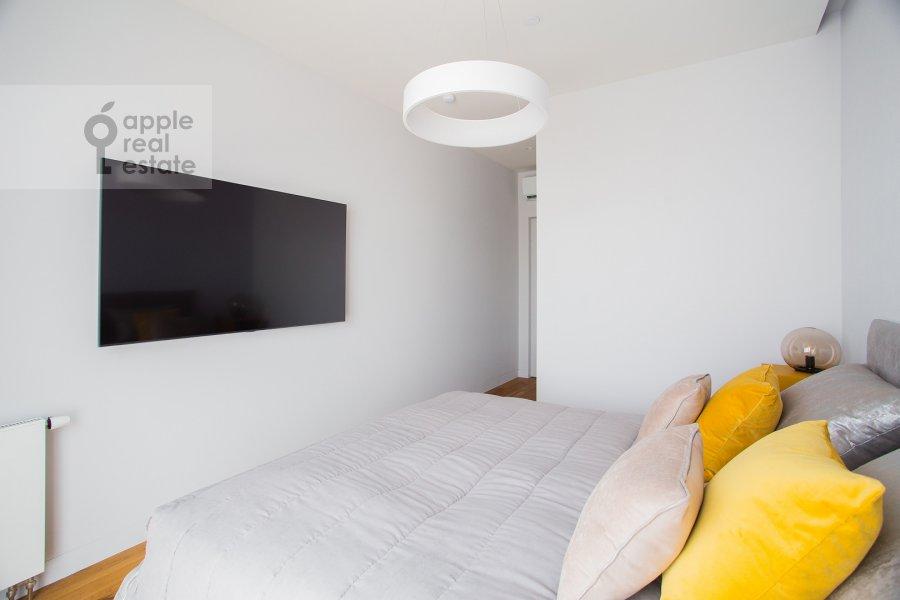 Bedroom of the 2-room apartment at Bumazhnyy proezd 4
