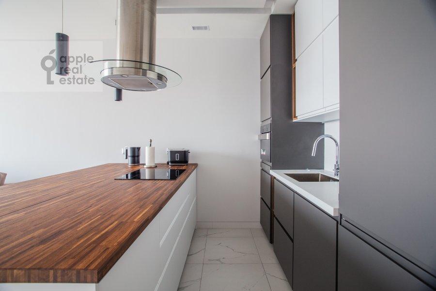 Kitchen of the 2-room apartment at Bumazhnyy proezd 4