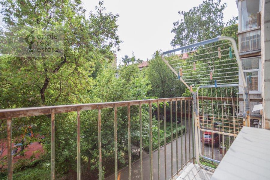 Балкон / Терраса / Лоджия в квартире-студии по адресу Красная Пресня 11
