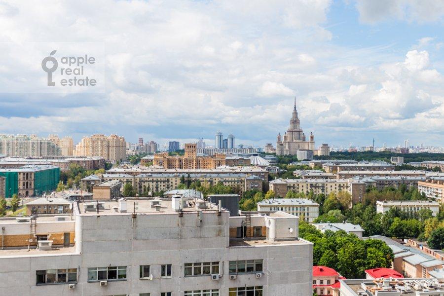 Вид из окна в 3-комнатной квартире по адресу Нахимовский проспект 56