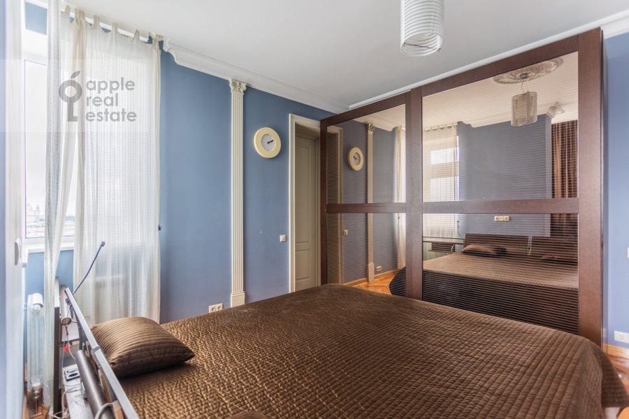 Спальня в 3-комнатной квартире по адресу Нахимовский проспект 56