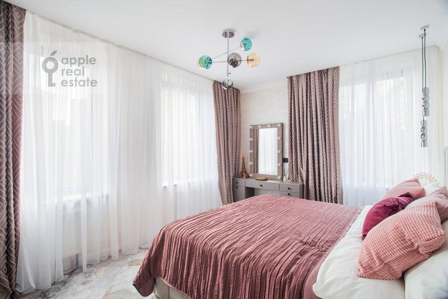 Спальня в 3-комнатной квартире по адресу улица Золоторожский Вал 8