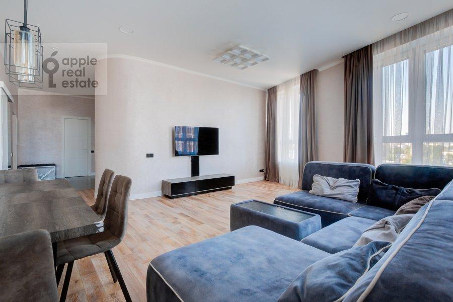 3-комнатная квартира по адресу Шелепихинская набережная 34к2