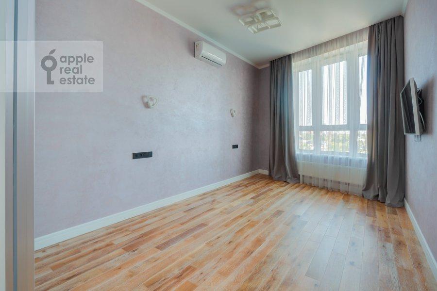 Спальня в 3-комнатной квартире по адресу Шелепихинская набережная 34к2