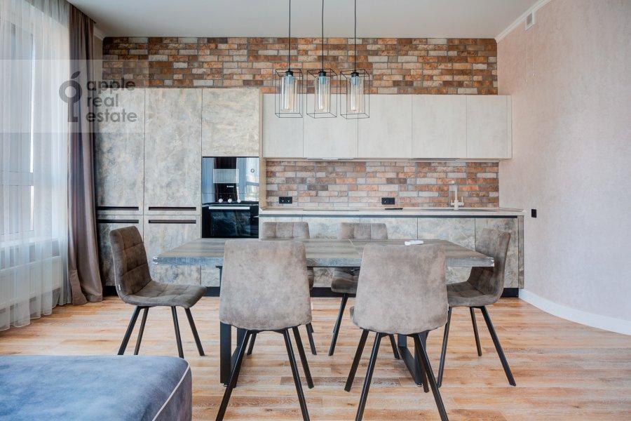 Кухня в 3-комнатной квартире по адресу Шелепихинская набережная 34к2