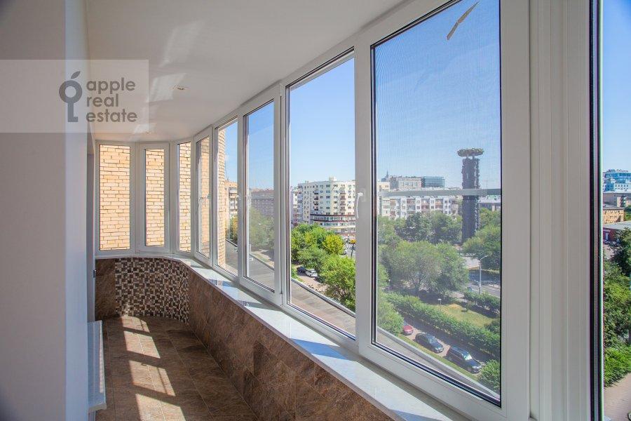 Балкон / Терраса / Лоджия в 4-комнатной квартире по адресу Большая Грузинская улица 39