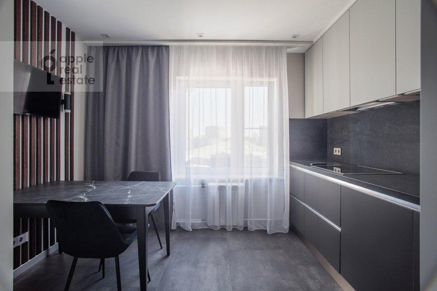 Кухня в 4-комнатной квартире по адресу Большая Грузинская улица 39