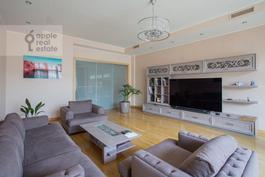 Гостиная в 3-комнатной квартире по адресу Большая Якиманка 22К3