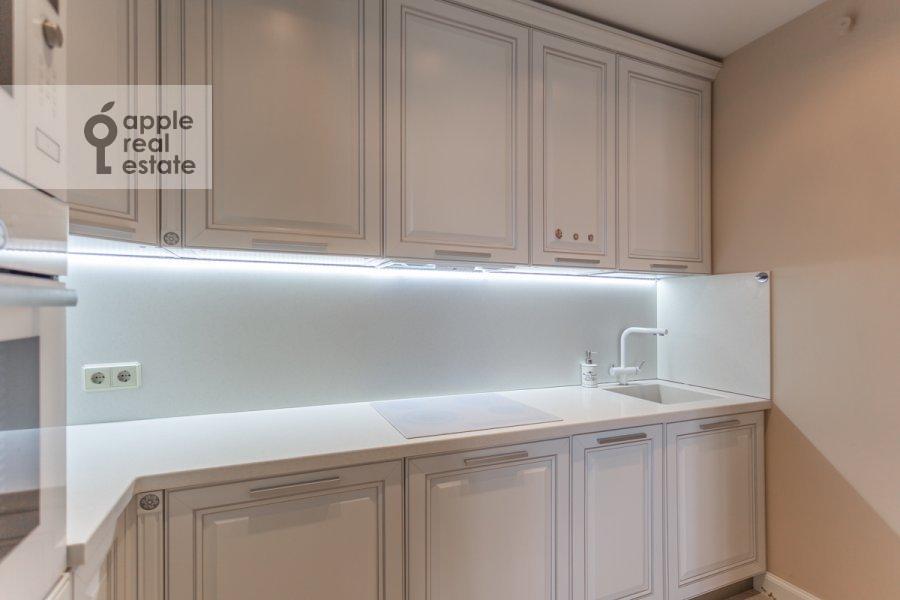 Кухня в 3-комнатной квартире по адресу Хорошевское шоссе 12к1