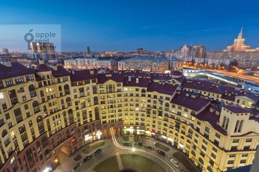 View from the window of the 4-room apartment at ulitsa Marshala Rybalko 2k6