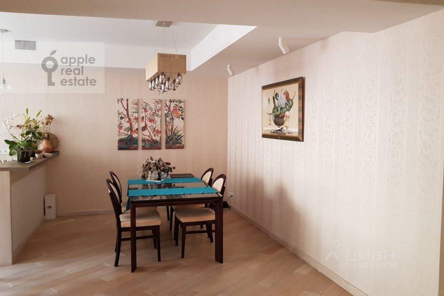 Kitchen of the 4-room apartment at ulitsa Marshala Rybalko 2k6