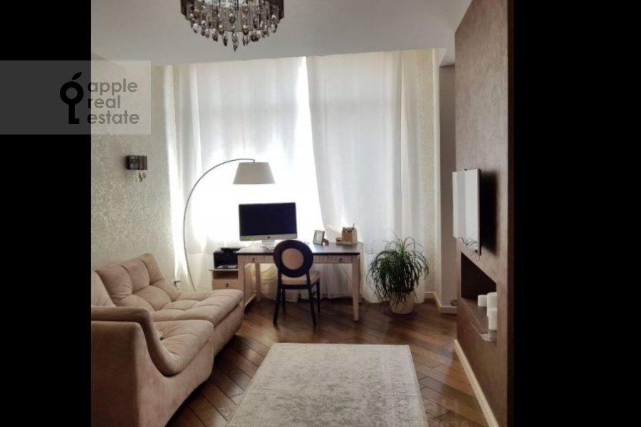 Children's room / Cabinet of the 4-room apartment at ulitsa Marshala Rybalko 2k6