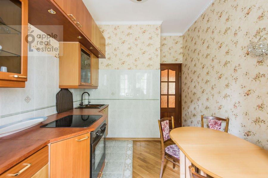 Kitchen of the 1-room apartment at 1-y Smolenskiy pereulok 9s1