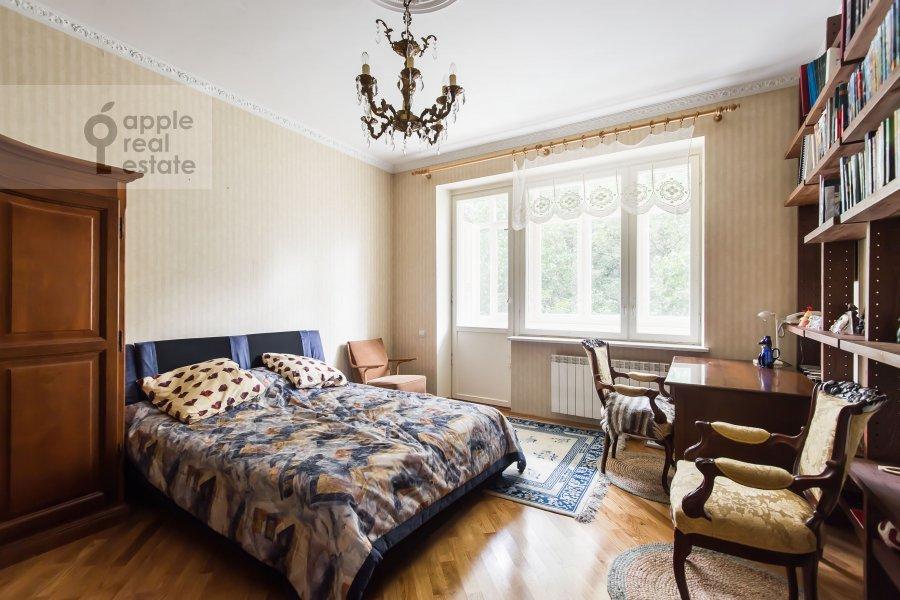 Living room of the 1-room apartment at 1-y Smolenskiy pereulok 9s1