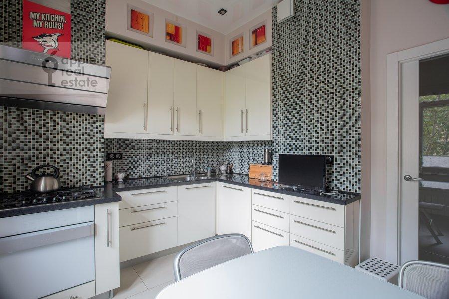 Kitchen of the 3-room apartment at Bol'shoy Tishinskiy pereulok 26k13-14