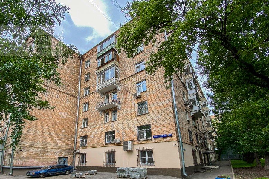 Photo of the house of the 3-room apartment at Bol'shoy Tishinskiy pereulok 26k13-14