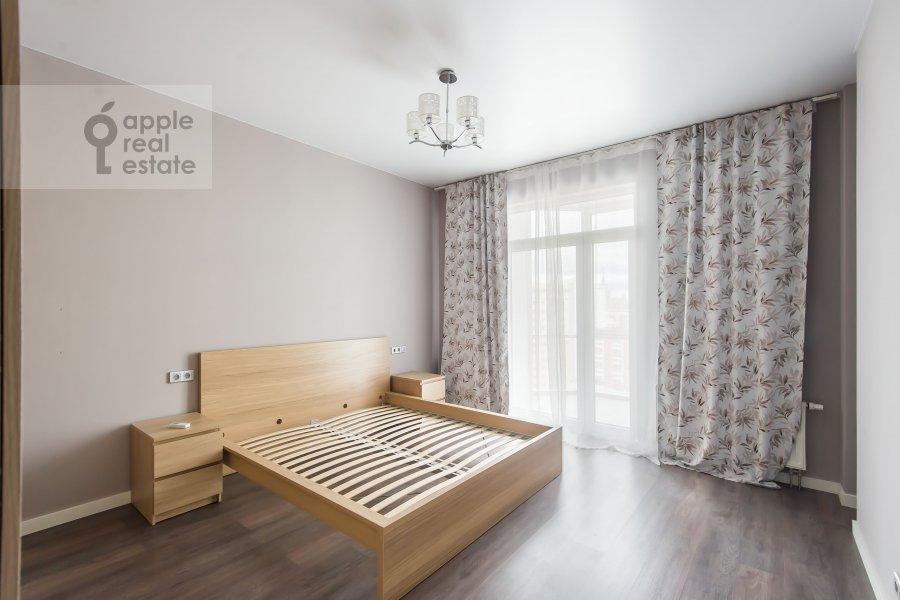 Bedroom of the 2-room apartment at Mosfil'movskaya ulitsa 88 k2 s5