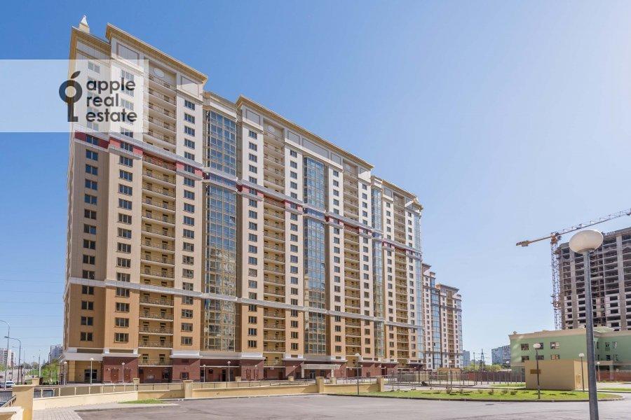 Photo of the house of the 2-room apartment at Mosfil'movskaya ulitsa 88 k2 s5