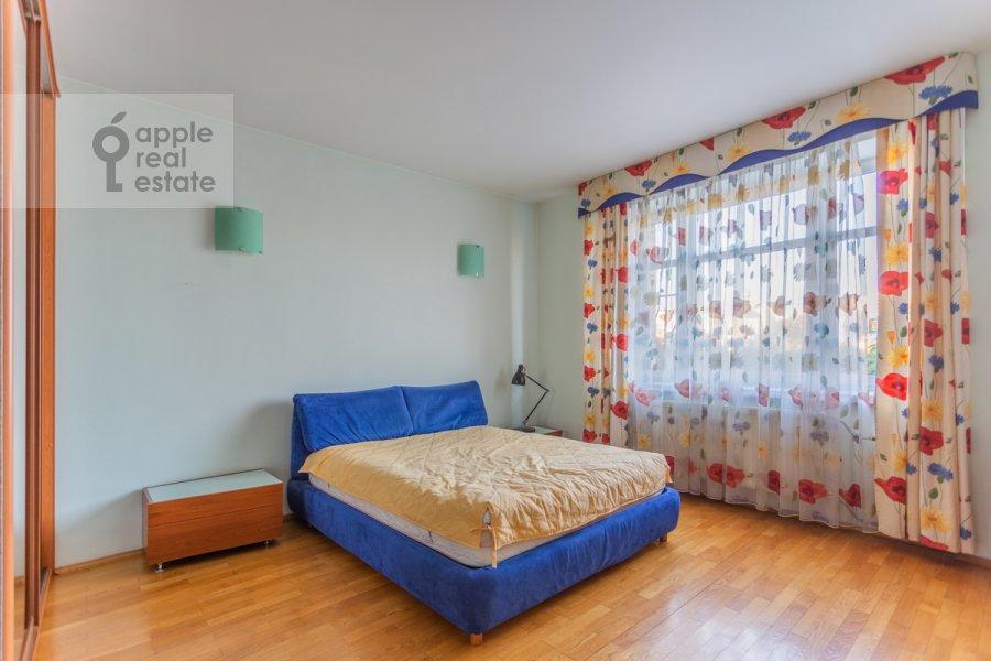 Спальня в 2-комнатной квартире по адресу 1-й Волконский переулок 15