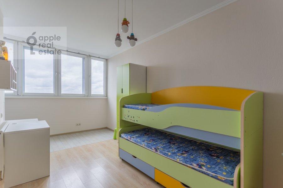 Children's room / Cabinet of the 3-room apartment at 1-y Nagatinskiy proezd 11k3