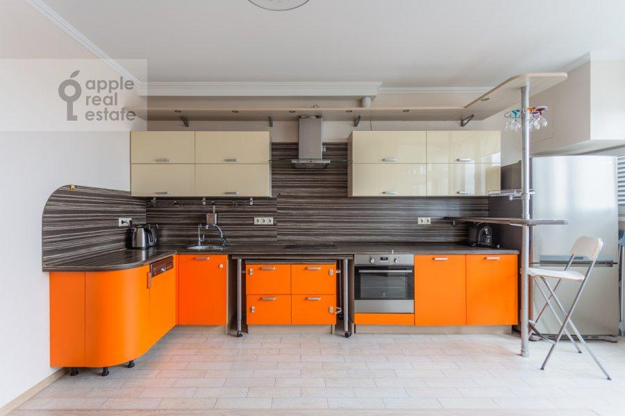 Kitchen of the 3-room apartment at 1-y Nagatinskiy proezd 11k3