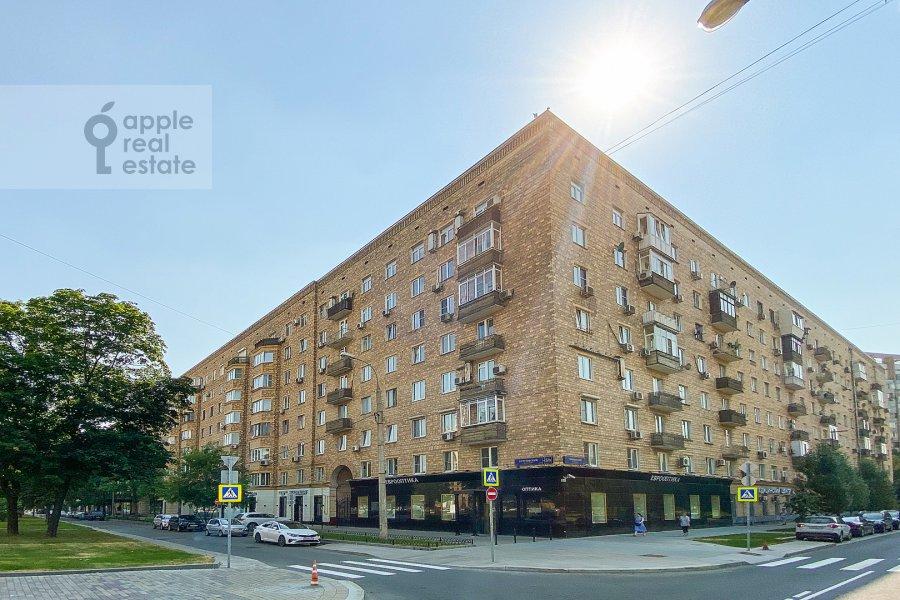 Photo of the house of the 2-room apartment at Kutuzovskiy prospekt 5/3