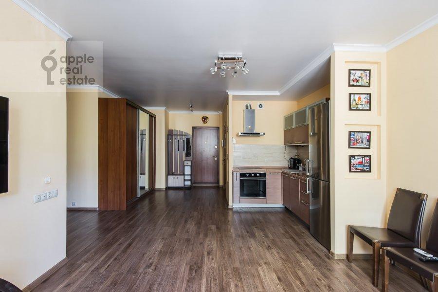 Поэтажный план 3-комнатной квартиры по адресу проспект Буденного 26к2
