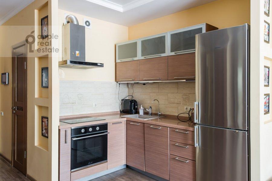 Кухня в 3-комнатной квартире по адресу проспект Буденного 26к2