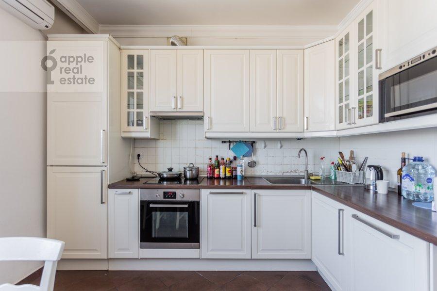 Kitchen of the 4-room apartment at Lesnaya ulitsa 4s1