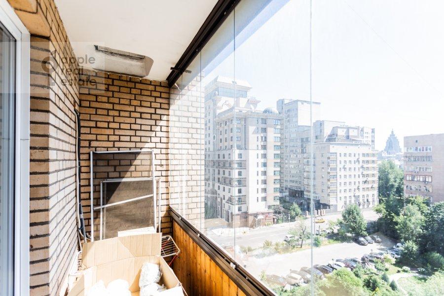 Балкон / Терраса / Лоджия в 3-комнатной квартире по адресу Лесная улица 4с1