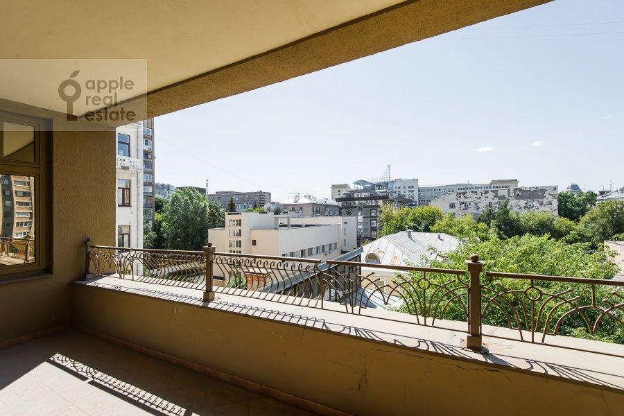Балкон / Терраса / Лоджия в 6-комнатной квартире по адресу Земледельческий переулок 11