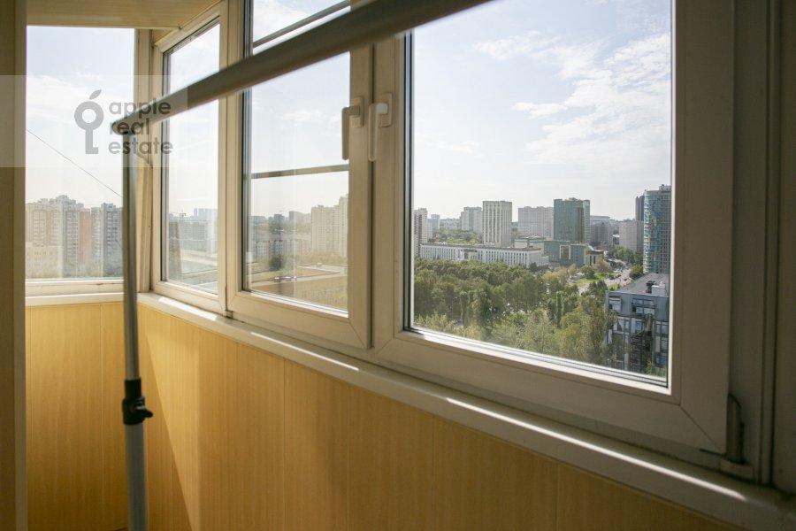 Balcony / Terrace / Loggia of the 4-room apartment at Novocheremushkinskaya ulitsa 50