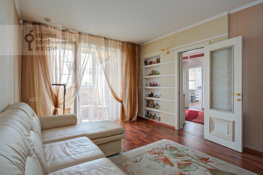 Bedroom of the 4-room apartment at Novocheremushkinskaya ulitsa 50