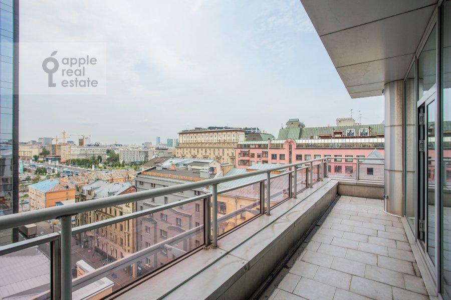 Balcony / Terrace / Loggia of the 3-room apartment at Bol'shaya Gruzinskaya ulitsa 69