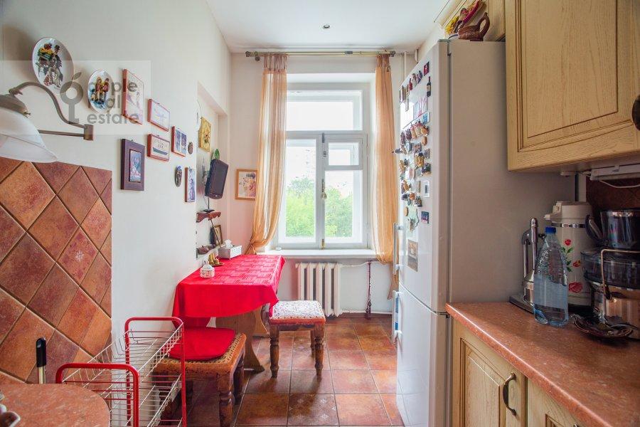 Кухня в 3-комнатной квартире по адресу Малая Никитская улица 4С1