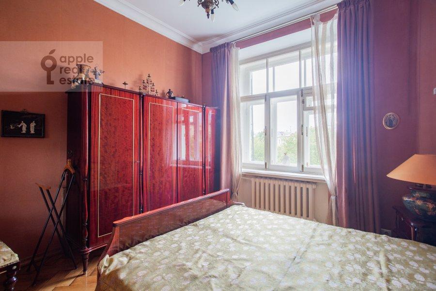 Спальня в 3-комнатной квартире по адресу Малая Никитская улица 4С1