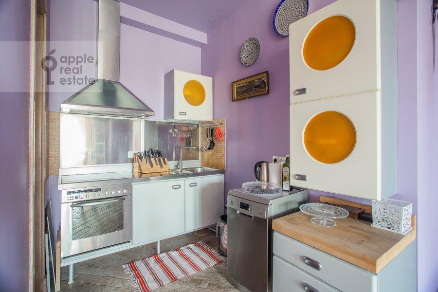 Kitchen of the 3-room apartment at Kuusinena 21A