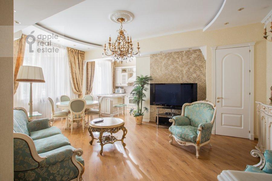 Гостиная в 3-комнатной квартире по адресу улица Госпитальный Вал 5К18