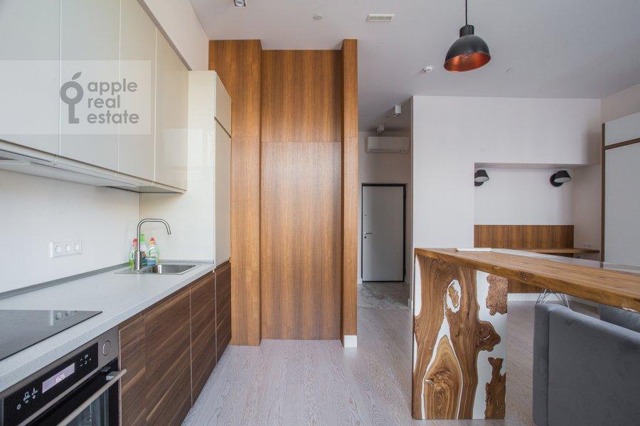 Kitchen of the studio apartment at 3-ya ulitsa Yamskogo Polya 9