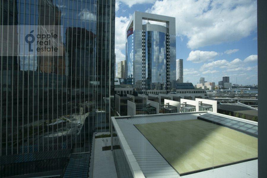 Вид из окна в 2-комнатной квартире по адресу 1-й Красногвардейский проезд 22с1