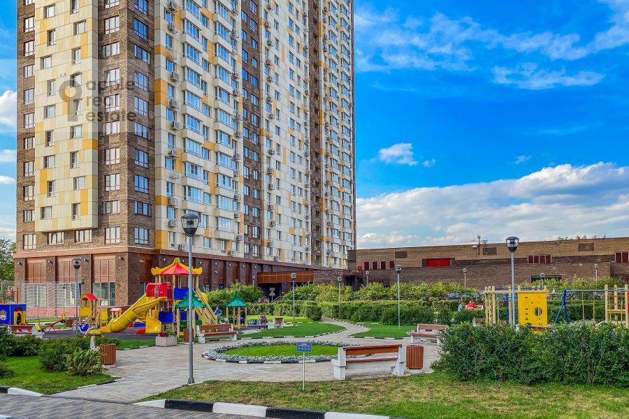 Photo of the house of the 2-room apartment at Pervomayskaya ulitsa 42k2