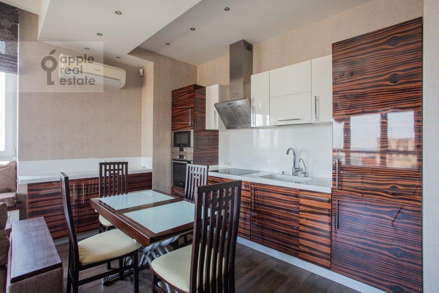 Kitchen of the 2-room apartment at Pervomayskaya ulitsa 42k2