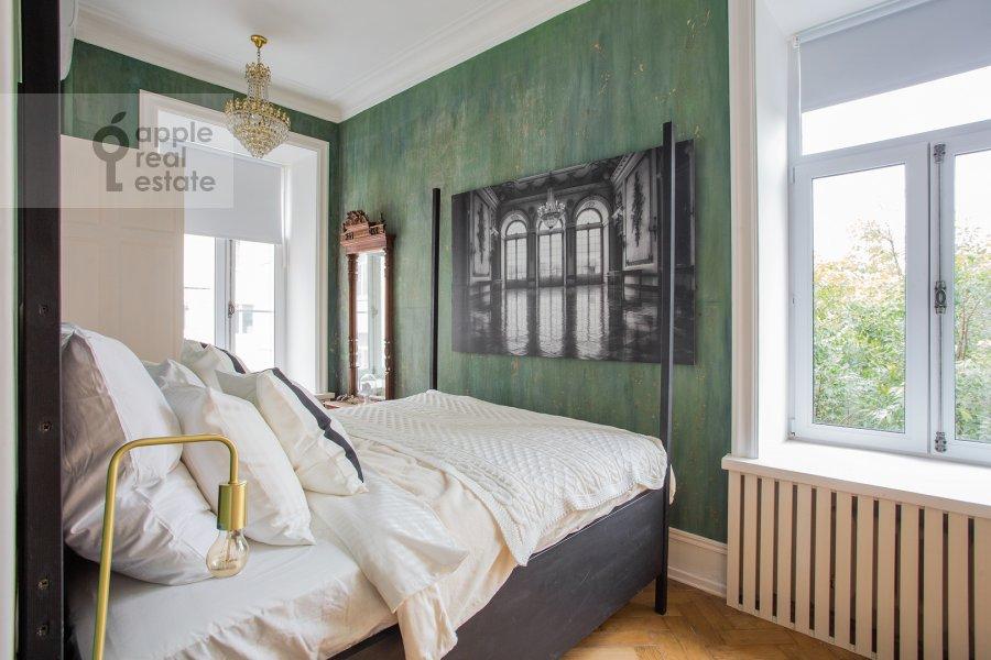 Спальня в 2-комнатной квартире по адресу Малый Предтеченский переулок 6