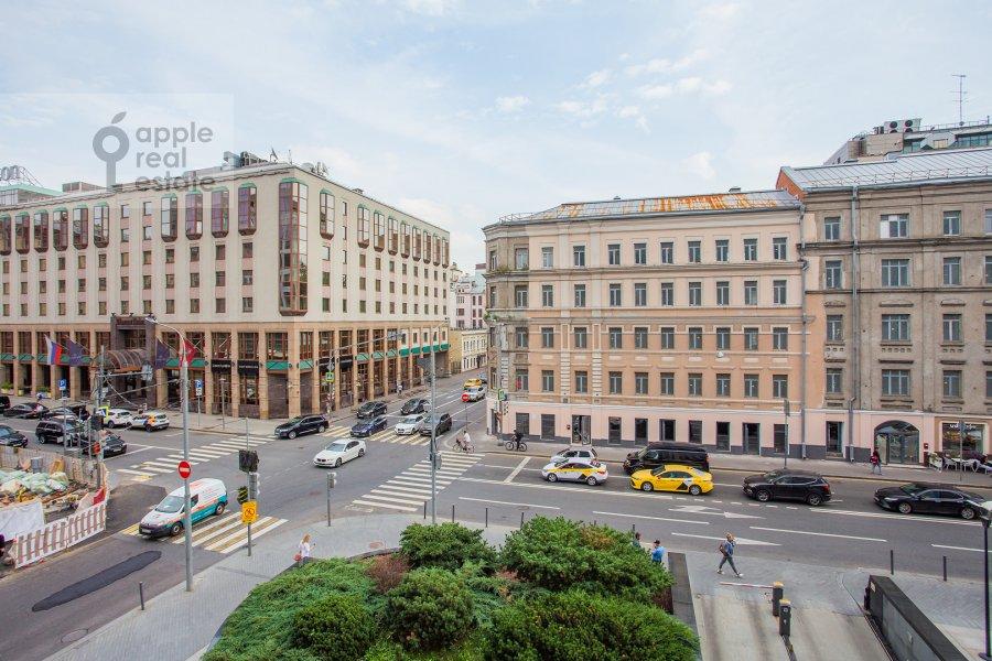 Вид из окна в 3-комнатной квартире по адресу Большая Грузинская улица 69