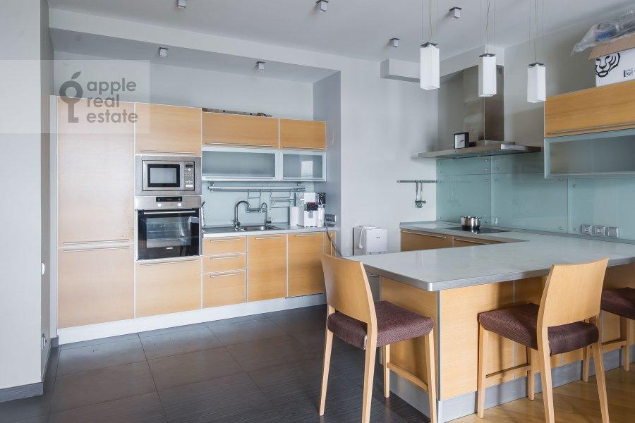 Kitchen of the 4-room apartment at Aviatsionnaya ulitsa 79k1