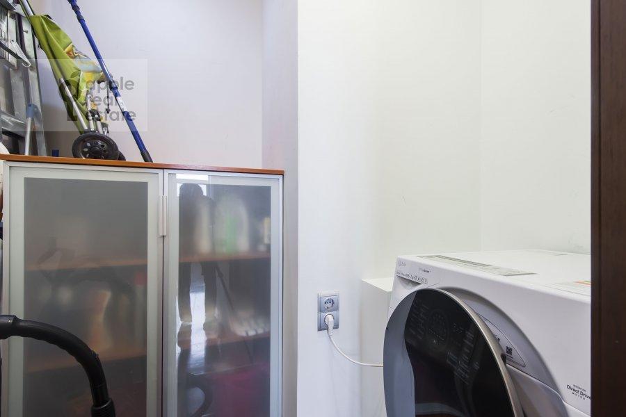 Walk-in closet / Laundry room / Storage room of the 4-room apartment at Aviatsionnaya ulitsa 79k1