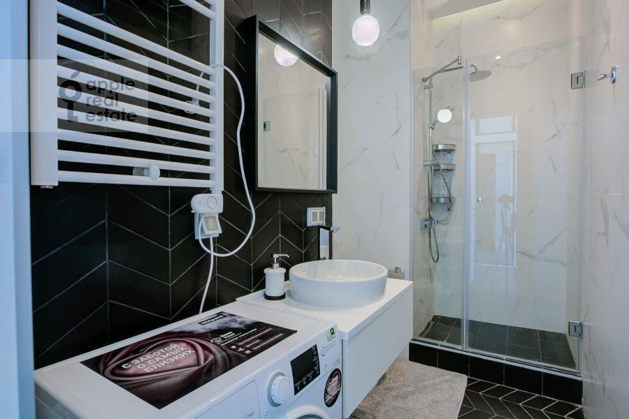 Санузел в 2-комнатной квартире по адресу Новый Арбат 15