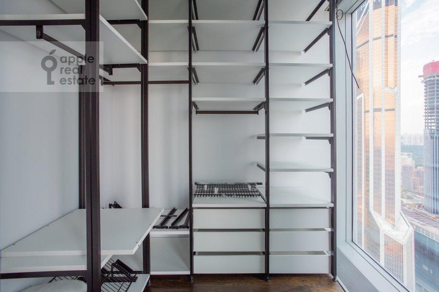 Bedroom of the 2-room apartment at Presnenskaya naberezhnaya 8s1